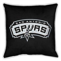 53de81a6c San Antonio Spurs Throw Bed Pillow 18 x 18