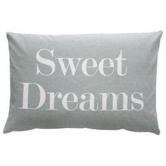 Noch mehr Kissen zum Ausspannen und erholen! Genau richtig für den Tag der Erholung! Krasilnikoff Kissenbezug Sweet Dreams