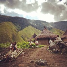 "Kogi people believe the Sierra Nevada is the center of the universe and the mountain's health controls the entire Earth's health. ""Never doubt that a small group of thoughtful committed citizens can change the world…"" Margaret Mead Sierra Nevada, Colombian Culture, Lost City, World Cultures, Change The World, South America, Photo Credit, Places To Visit, Earth"