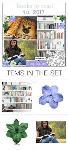 """""""books to read in 2017"""" by girlies-tip2 ❤ liked on Polyvore featuring art, modern, reading, FAmous, tips, books and tipping"""