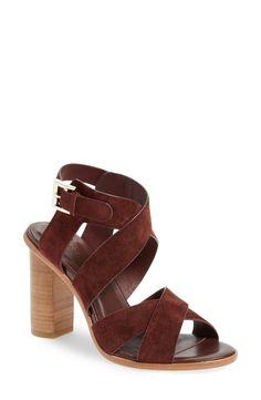 'Avery' Crisscross Block Heel Sandal (Women)