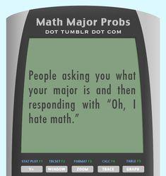 Math Major Problems