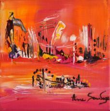 tableau contemporain abstrait de l'artiste peintre ame sauvage   http://www.amesauvage.com/artiste-peintre-contemporain-2/tous-les-tableaux/tableau-abstrait-rouge-1.html
