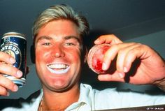 Shane Warne: Aussie legend, now with his own emoji.Image: Getty ImagesIt's about bloody time the bad boy of Australian cricket and inspiration behind many'a Dim Sim, Shane Warne, English Gentleman, Cricket Sport, Sport Photography, Got Him, What Is Like, The Fosters, Cricket