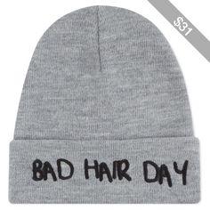 LOCAL HEROES Bad hair beanie