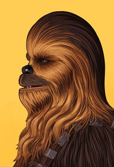 Cool Art: Han Solo & Chewbacca by Mike Mitchell See them here