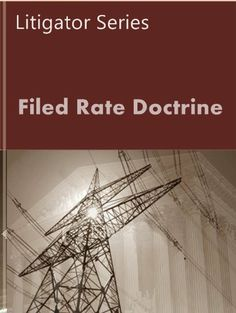 Filed Rate Doctrine (Public Utility Series) by LandMark Publications. $7.99