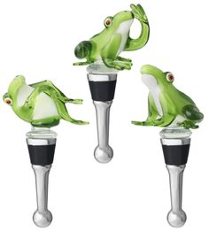 Frog Bottle Stoppers