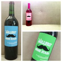 Six Personalized Wine Labels For Any Occasion by StudioBLabels, $14.99 Personalized Wine Labels, Homemade