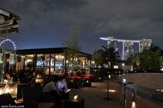 Orgo rooftop bar in Singapore