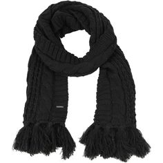 Diesel K-MARYLIN Scarf (150 BRL) ❤ liked on Polyvore featuring accessories, scarves, black, other accessories, women and diesel scarves