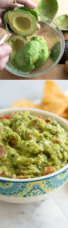 How to make our favorite guacamole recipe! Fresh and so easy.