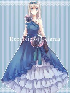 Pretty dress Belarus~