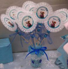 Piruletas personalizadas Candy Bar Frozen, Cake, Desserts, Food, Lollipops, Tailgate Desserts, Deserts, Kuchen, Essen