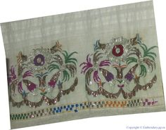 Hand Embroidery, Elsa, Oriental, Ottoman, Textiles, Stitch, Antiques, Prints, Projects