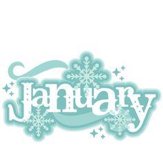 January Title SVG scrapbook cut file cute clipart files for silhouette cricut pazzles free svgs free svg cuts cute cut files January Clipart, Kit Digital, Hello January, Scrapbook Titles, Freebies, Cute Clipart, Cute Cuts, Months In A Year, Silhouette Design