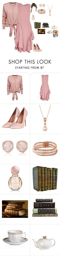 """""""Untitled #1998"""" by charactertickles ❤ liked on Polyvore featuring Dolce&Gabbana, Alexander McQueen, Topshop, LE VIAN, Monica Vinader, Betsey Johnson, Bulgari, Royal Crown Derby and Pols Potten"""
