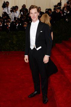Benedict Cumberbatch in Ralph Lauren at the Met Gala