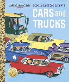 Richard Scarry's Cars and Trucks (Little Golden Book) by ...
