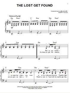 Download and print christian sheet music arrangements of top praise britt nicole sheet music for piano google search fandeluxe Images