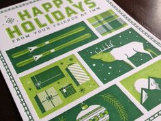 Holiday Card, Kyle Taylor, Mike Casebolt, Andrew LIttman