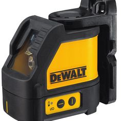 Model: FAO SKU: The DEWALT Cross Line Laser Level projects bright crossing horizontal and vertical lines for various leveling and layout applications. This laser maintains full brightness for visibility and extended range.