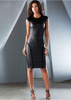 #black #dress #bonprix