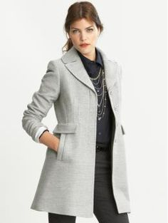 Textured Coat $225.00