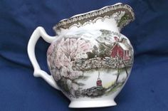 friendly village by johnson brothers | Friendly Village Johnson Bros. England Pitcher from saltymaggie on ...