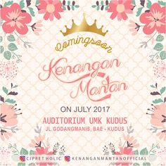 "Coming Soon !!!  Event ""KENANGAN MANTAN"""