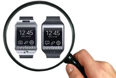 Samsung's new Galaxy Gear wearable will come in two models, according to fuzzy leaked images