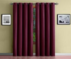 buy in measure p curtain made for curtains color burgundy to blackout