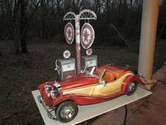 Wrebbit Mercedes-Benz 1935 500K Roadster 1:10 [FERTIG] - Construction Reports - Vehicles - Kartonbau.de - Alles rund um Papiermodelle, Karto...
