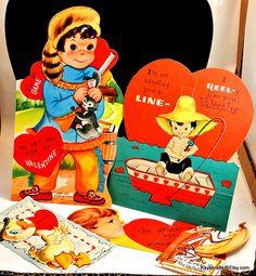 Vintage Valentines Cards 1950 Valentines Cards Grade School