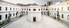 Ampliación del cuartel de la guardia urbana Nou Barris Barcelona dataAE+XVStudio