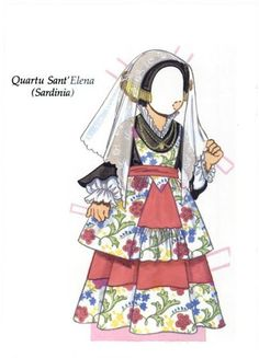 Little Italian Girl Paper Doll   Little Italian Girl   Paper Doll - 10…