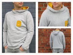 HerrTONI Kapuzensweater für Herren