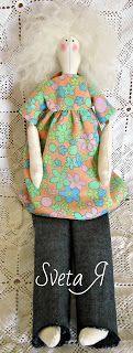 ΥΠΕΡΟΧΕΣ ΔΗΜΙΟΥΡΓΙΕΣ: Растрепка. Кукла в стиле тильда Drawstring Backpack, Backpacks, Dolls, Blog, Fashion, Baby Dolls, Moda, Fashion Styles, Puppet