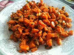 Mediterranean Recipes, Lchf, Sweet Potato, Carrots, Salsa, Potatoes, Favorite Recipes, Vegetables, Ethnic Recipes