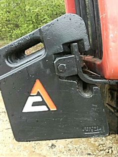 Awesome Allis Chalmers weights. Allis Chalmers Tractors, Ford Tractors, Agriculture, Farming, Tractor Weights, Tractor Implements, Hot Rides, Old Farm, Ranch