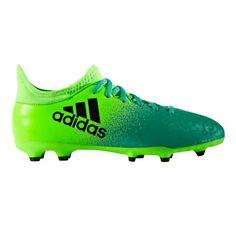 Adidas X 16.3 FG BB5859 voetbalschoenen junior solar green core black De Wit Schijndel