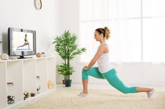 Want to start working out at home? Try one of these 8 free cardio workouts for beginners! #fitness #workout