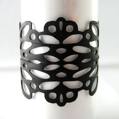 jewelry laser cut from tire tubes