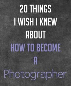 "Thinking about becoming a ""pro photographer""? Read this first."
