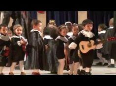 VILLANCICO TUNA niños 1, 2 y 3 AÑOS 2015 - YouTube