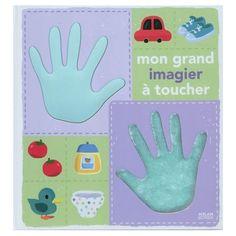 Mon grand imagier à toucher / Xavier Deneux  5 raisons d'offrir des livres aux bébés - Loulou & Chipette