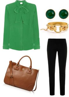 Corporate Chic : Tied up in Emerald by ...