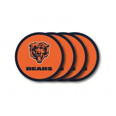 Chicago Bears Coaster Set  4 Pack ** Check out the image by visiting the link.