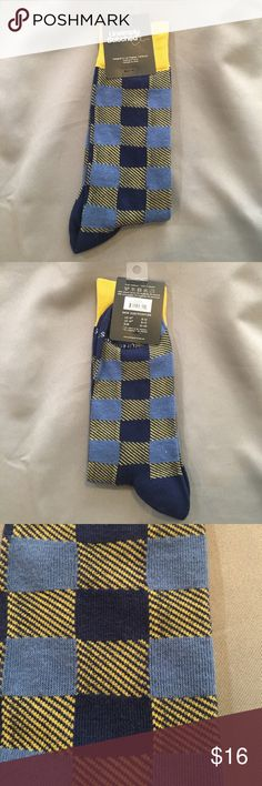 NWT Unsimply Stitched Blue and Yellow Socks NWT Unsimply Stitched Blue and Yellow Socks. Checkout my other socks. Bundle and save! Unsimply Stitched Underwear & Socks Casual Socks