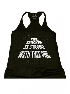 Women's The Sarcasm Is Strong Racerback Tank Top